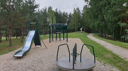 Žaidimų aikštelėje Marijampolėje nepažįstamasis primušė vaiką