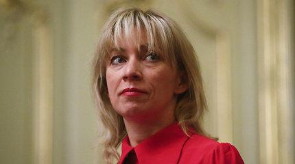 Rusijos užsienio reikalų ministerijos atstovė spaudai Marija Zacharova