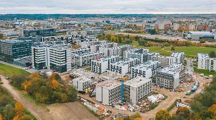 Vilniuje statomi šiuolaikiški bendrabučiai, bet ne studentams