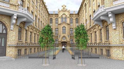 Istorinis pastatas sostinės A.Jakšto gatvėje sulauks pokyčių: planuojamas viešbutis