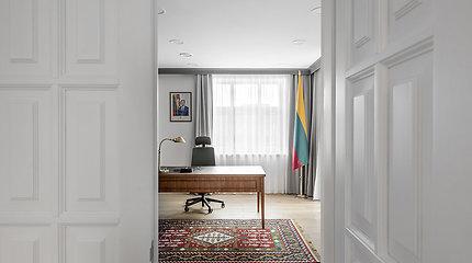 Lietuviškumu alsuojanti ambasada Prahoje: dizainerė sukūrė šalį reprezentuojantį interjerą