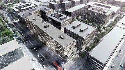 """""""Hanner"""" buvusio """"Žalgirio"""" stadiono teritorijoje suplanavo antrą biurų pastatą"""