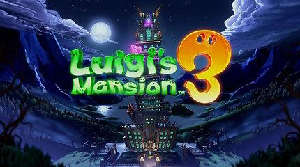 """""""Luigi's Mansion 3"""" apžvalga, arba Ponaitis Frekenbok vyksta atostogų"""