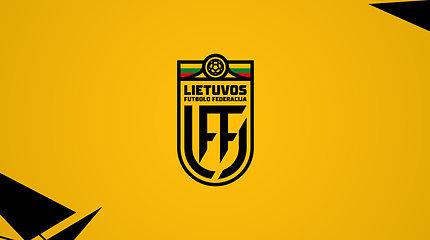 Lietuvos futbolo federacija pristatė atnaujintą logotipą
