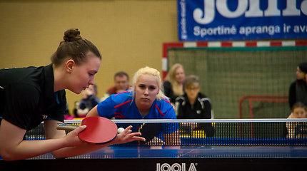 Lietuvos stalo teniso rinktinės išvyko į komandinį pasaulio čempionatą
