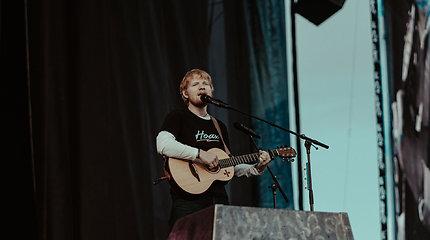 Edo Sheerano koncertas Rygoje uždirbo daugiau nei 3,5 mln. eurų