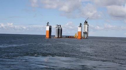 Klaipėdos uostą pasiekė didžiausias Baltijos šalyse dokas