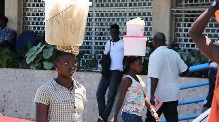 UNICEF Lietuvos misija Siera Leonėje