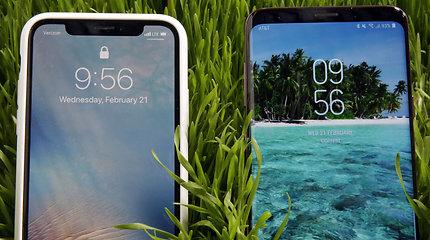 """""""Samsung"""" pristatė savo naujuosius flagmanus"""
