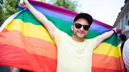 """Žinomi žmonės """"Baltic Pride"""" 2019 eitynėse"""