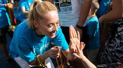 6-tasis UNICEF vaikų bėgimas Vilniuje