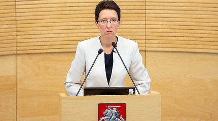 Seime svarstomas klausimas dėl korupcija įtariamų teisėjų atleidimo