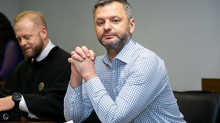 Dariaus Tolušio teisiamasis posėdis