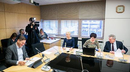 Seimo Ekonomikos komiteto posėdis dėl Lietuvos pašto valdybos