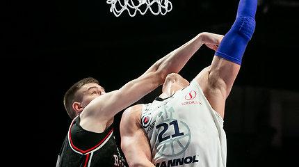 KMT pusfinalyje S.Galdiko ir M.Blaževičiaus incidentas