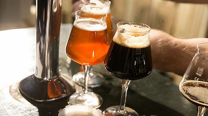 Pardavėjos akivaizdoje išsinešė šešis litrus alaus