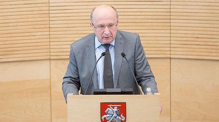 A.Kubilius: jei vėl turėčiau vadovauti vyriausybei per krizę, remčiausi blogiausiomis prognozėmis
