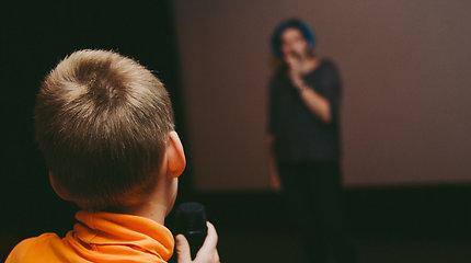 """""""Nepatogaus kino"""" edukaciniai seansai"""
