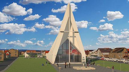 Kaune, Šilainiuose, iškilo aukščiausias kryžius Lietuvoje