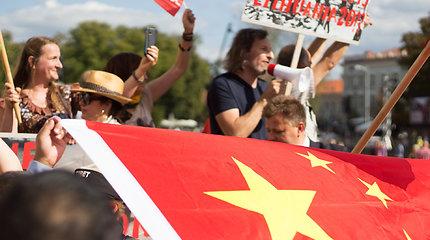 Migracijos departamentas: Honkongo mitinge konfliktą sukėlęs kinas gali likti Lietuvoje