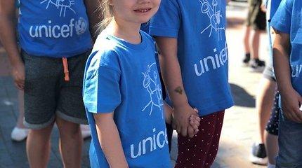 """""""Unicef"""" bėgimas Druskininkuose"""