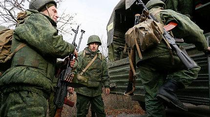 Separatistai Donecke apleidžia pozicijas