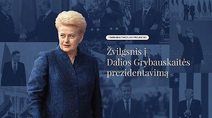 15min multimedijos projekte – analitinis žvilgsnis į D.Grybauskaitės prezidentavimą