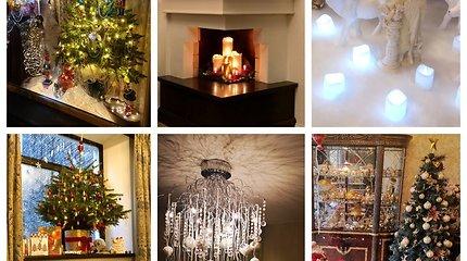 Balsuokite: kas gražiausiai pasipuošė namus šventėms?