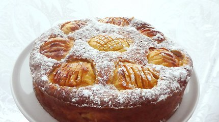 Reginos obuolių pyragas neturi lygių: įsitikinkite patys
