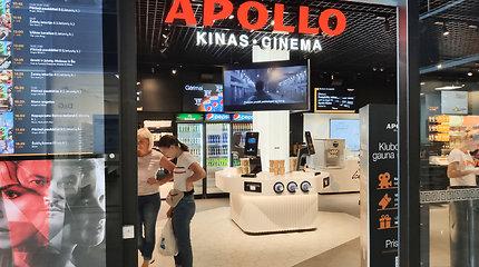 """Pirmasis """"Apollo"""" kino teatras Lietuvoje: už komfortą teks mokėti daugiau"""