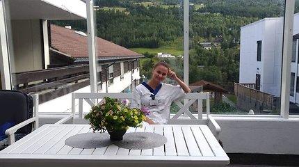 Po įtemptų kalbos kursų – naujas etapas Norvegijoje