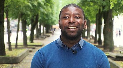 Nigerietis save realizavo Lietuvos akademinėje bendruomenėje