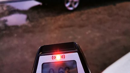 Per reidus Kaune įkliuvo 5 girti vairuotojai
