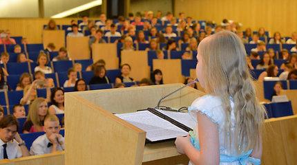 """Vaikų konferencijoje """"Lietuvos vaikų balsas"""" kalbėjo tik vaikai"""