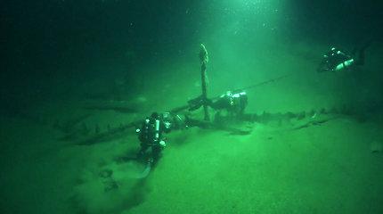 Juodosios jūros dugne aptiktas nepaprastas radinys – seniausio kada nors rasto laivo liekanos
