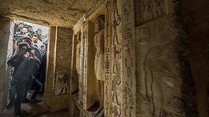 Jaudinantis atradimas: Egipte aptikta išskirtinė 4,4 tūkst. metų senumo kapavietė