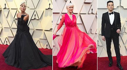 """Svarbiausia kino šventė metuose: """"Oskarų"""" raudonuoju kilimu žengė Holivudo grietinėlė"""