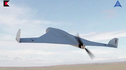 Rusija pristatė karinį droną, galintį pradėti visiškai naują kovos formatą