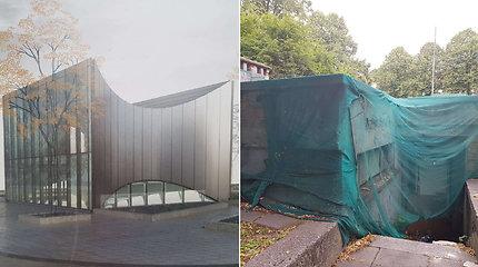 Vietoj apleisto viešojo tualeto Klaipėdoje – modernus paviljonas