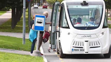 Baltijos miestų keliuose išbandoma naujovė: savavaldžiai autobusai padės sumažinti eismo spūstis