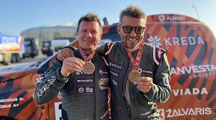 """Dakaro finiše D.Vaičiulis buvo atviras – kitąmet su A.Juknevičiumi nebevažiuos: """"Palaukite, gal dar Darius persigalvos"""""""