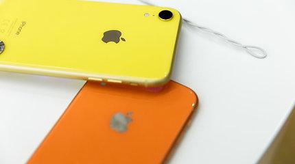 """Prancūzijos reguliuotoja skyrė """"Apple"""" 25 mln. eurų baudą"""