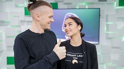 Iglė Bernotaitytė ir Tadas Juodsnukis: įsimylėjusi pora gerbėjams turi staigmeną
