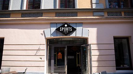 """Vietoj """"Hooters"""" baro atsidarė """"Sports pub"""""""