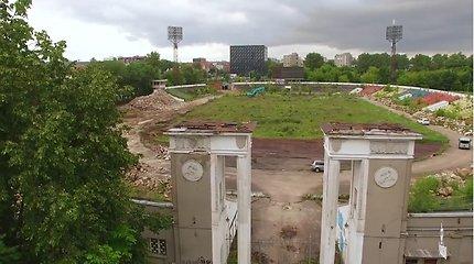 """Lietuvos rinktinės žaidėjams – puikūs prisiminimai iš buvusio """"Žalgirio"""" stadiono"""