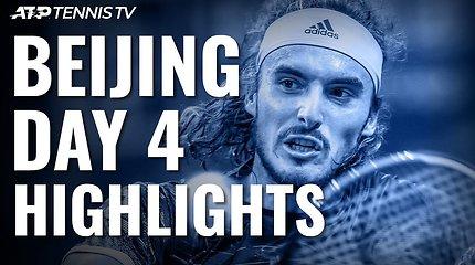 Ketvirtoji ATP turnyro Pekine diena: dominuojantis A.Zverevas ir čempiono pralaimėjimas