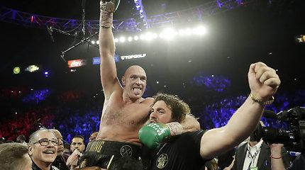Tysono Fury pergalė prieš Deontay Wilderį