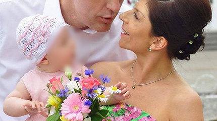 Gintaras Einikis ir Jurgita Žybartaitė mini septintąsias vedybų metines