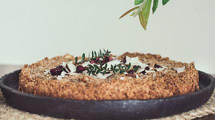 Išbandykite: sveikas ir aromatingas obuolių pyrago receptas