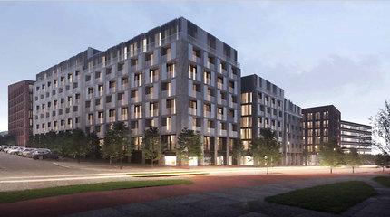 """Architektūros taryba: projektas buvusioje """"Audėjo"""" teritorijoje turi būti keičiamas"""